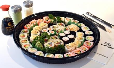 Sushiboxen met 20, 24 of 40 stuks om af te halen bij Sushi Time Leiden