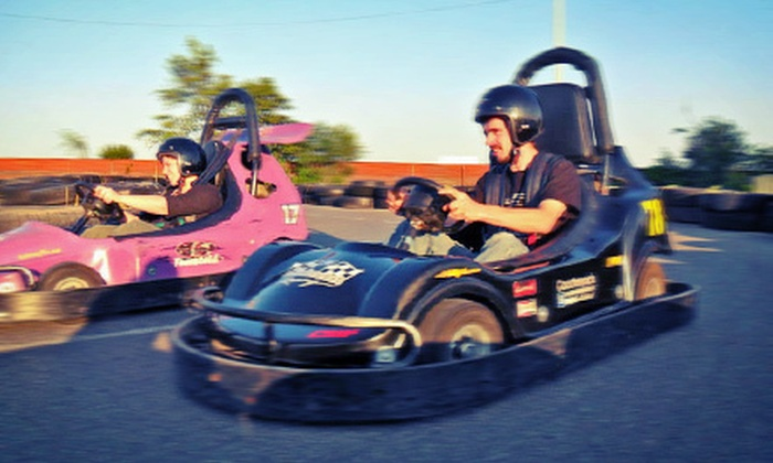 Kingston Family Fun World Park - Kingston: $29 for a Half-Hour Go-Kart Race and Round of Mini Golf for Two at Kingston Family Fun World (Up to $59 Value)