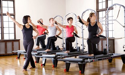 image for 5 or 10 Combo Reformer and Power-Plate Classes or 5 Reformer Classes at Lifestyle <strong>Pilates</strong> LLC (Up to 82% Off)
