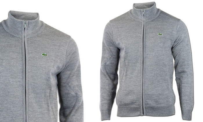 new product a8163 96897 Lacoste Herren-Strickjacke | Groupon Goods