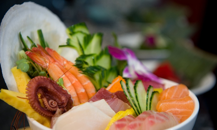 Aji Japanese Restaurant - Minnetonka - Hopkins: Sushi and Hibachi at Aji Japanese Restaurant (50% Off). Three Options Available.
