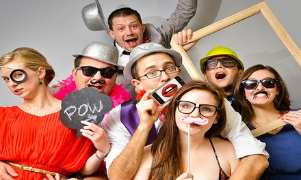 Two-Hour or Four-Hour Photo-Booth Rental from Dynamo Entertainment (Up to 60% Off)