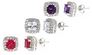 Gemstone Earrings. Multiple Gemstones Available.