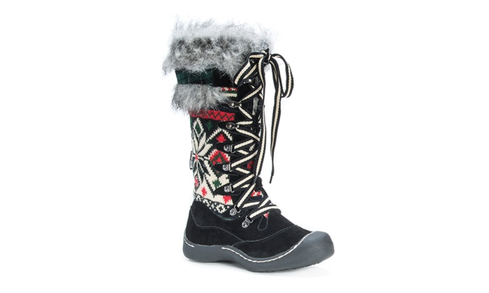 Muk Luks Gwen Women&39s Snow Boots (Size 7) | Groupon