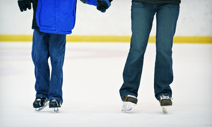 Community Ice Skating @ Kendall Square - Kendall Square: $13 for Ice Skating and Skate Rentals for Two from Community Ice Skating @ Kendall Square (Up to $26 Value)
