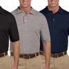 Men's Short-Sleeve Cotton Polos (3-Pack)