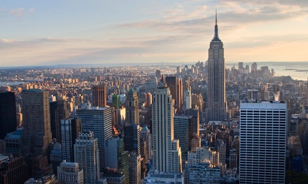 groupon daily deal - Stay at DoubleTree by Hilton Hotel New York - Times Square South in New York City, with Dates into September