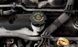 Tincher Auto Group of Pickerington: One Basic Oil Change, Three Synthetic-Blend Oil Changes, or Brake Pads at Tincher Auto Group (Up to 67% Off)