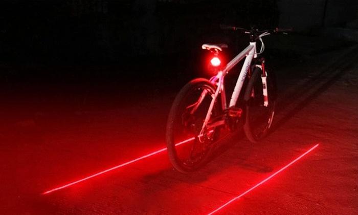 LED Virtual Bike Safety Lane
