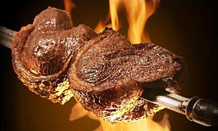 Samba Brazilian Grill - Downtown Madison: Rodizio-Style Cuisine at Samba Brazilian Grill (Up to 50% Off). Two Options Available.