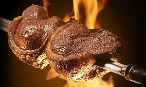 Samba Brazilian Grill: Rodizio-Style Cuisine at Samba Brazilian Grill (Up to 50% Off). Two Options Available.
