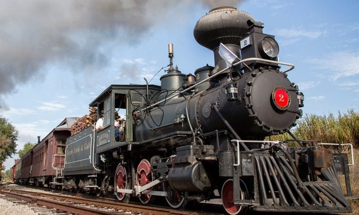 Orange Blossom Cannonball - St. Clair: Steam or Diesel Train Ride for Two or Four with the Orange Blossom Cannonball (Up to 47% Off)