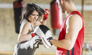 Impact Fitness: 10 or 20 Kickboxing Classes with Boxing Gloves at Impact Fitness (Up to 85% Off). Four Options Available.