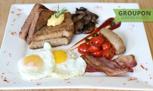 Brownies & Downies Cape Town: Choice of Breakfast Including a Beverage from R55 for One at Brownies & Downies Cape Town (Up to 47% Off)