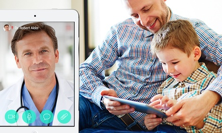 3, 5, or 10 Online Doctor Consultations from HealthTap (Up to 59% Off)