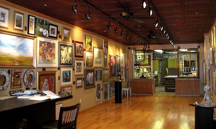 Center Framing and Art - West Hartford: $40 for $100 Worth of Custom Framing at Center Framing and Art