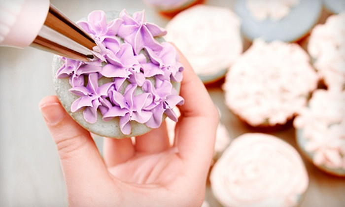 BakersVille - Streetsville: Cupcake- and Cookie-Decorating Class for One or Two or Private Class for Up to 10 at BakersVille (Up to 63% Off)