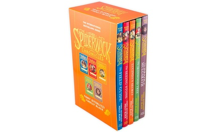 Simon and Schuster The Spiderwick Chronicles Five-Book Set