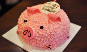 Snowbear Bakery: 6- or 8-Inch 3D Design Cake at Snowbear Bakery (Up to 49% Off)