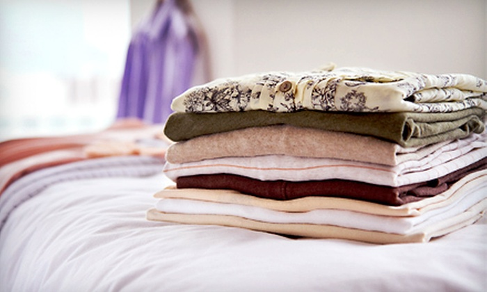Mayflower Laundromat & Drycleaner - Schenectady: 26 Lbs. of Laundry with Pickup and Delivery, or $12 for $24 Worth of Dry Cleaning at Mayflower Laundromat & Drycleaner