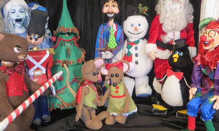 """NorthPole Texas - Intersection of Ballpark Way and Road to Six Flags: """"NorthPole Texas"""" Marionette Show on November 27–December 20"""