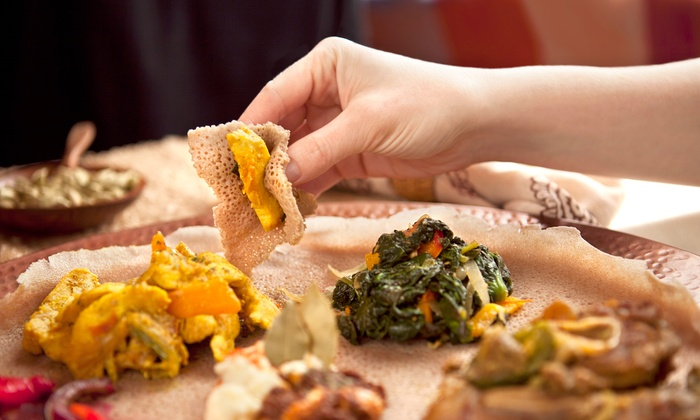 Ethiopia Restaurant - Elmwood: Ethiopian Meal for Two or Four at Ethiopia Restaurant in Berkeley (Up to 57% Off)