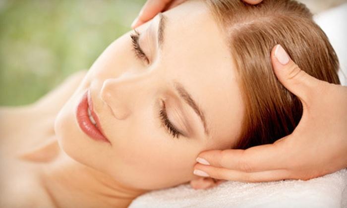 Inspiritu Aveda Salon - Agate Point: Four-Hour Spa Day with Massage, Facial, and Mani-Pedi, or a Swedish Massage at Inspiritu Aveda Salon (Up to 60% Off)