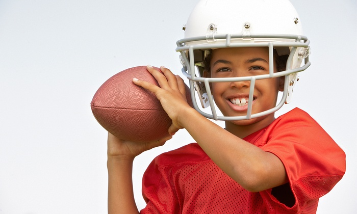 Pro Football Hall of Fame - Canton: Four-Week Youth Football-Skills Clinic for One or Two at The Pro Football Hall of Fame (Up to 51% Off)