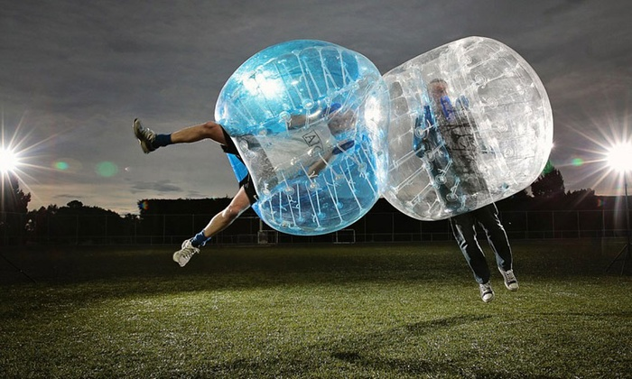 Bubble Ball Bash - Steele Indian School Park: One or Two General Admission Tickets to Bubble Ball Bash at AcroBody Bubble Bash on Saturday, October 24 (Up to 53% Off)