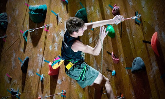 Dallas Rocks - Dallas: One Month of Rock Climbing with Gear or 10 Days of Visits with Gear at Dallas Rocks (Up to 52% Off)