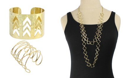 ZAD Gold-Plated Jewelry. Multiple Styles Available from $10.99–$19.99. Free Returns.