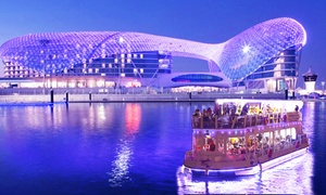 RIKKS FLOATING RESTAURANT Abu Dhabi: Yas Marina Dinner Cruise for One, Two, Four or Six at Rikks Floating Restaurant Abu Dhabi (31% Off)