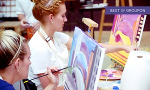 Tipsy Paint Studio: $20 for a Two-Hour BYOB Painting Class for One at Tipsy Paint Studio ($38 Value)
