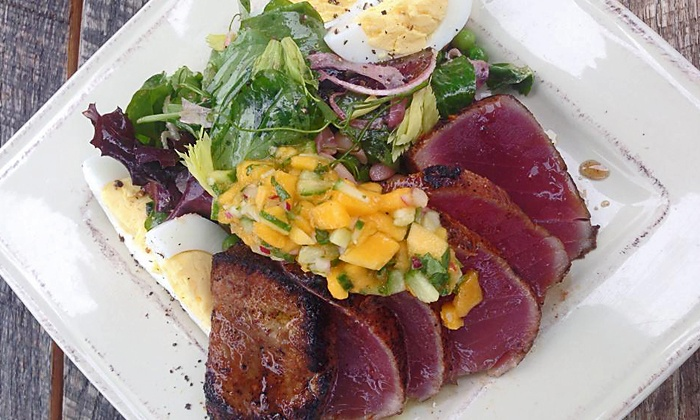 The Shop Cafe - Santa Barbara: $18 for $30 Worth of New American Food for Breakfast and Lunch at The Shop Cafe