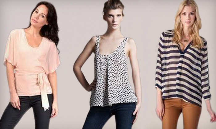 Milana C. - Downtown Menlo Park: $49 for $100 Worth of Boutique Clothing and Accessories at Milana C. in Menlo Park