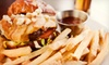 Black Bear Saloon - South Norwalk: Two or Four Burgers, Sandwiches, or Wraps with Beer at Black Bear Saloon (Up to 53% Off)
