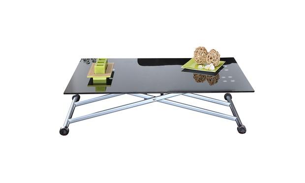 table basse relevable groupon shopping. Black Bedroom Furniture Sets. Home Design Ideas