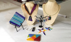 Flamingo Art Center: Fused Glass Workshop for Two, Four, or Six at Flamingo Art Center (Up to 66% Off)