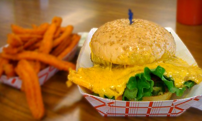 Squeeze Inn - West Sacramento: $10 for $20 Worth of Burgers and Drinks at Squeeze Inn West Sacramento