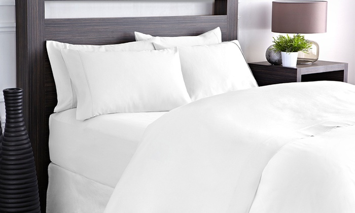 800 Thread-Count Sateen Sheet Sets: 800 Thread-Count Sateen Sheet Sets. Multiple Sizes and Colors Available from $46.99–$49.99.