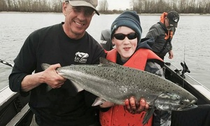 Oregon City Charters: All-Day Fishing Trip for One, Two, or Three from Oregon City Charters (Up to 61% Off)