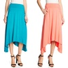 Studio West Women's Draped Pull-On Maxi Skirt