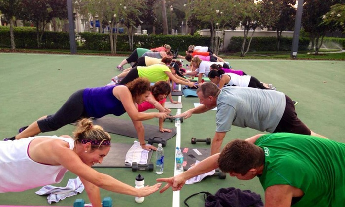 Camp Gladiator - Multiple Locations: Four Weeks of Unlimited Boot-Camp Classes at Camp Gladiator  (74% Off)