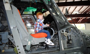 New England Air Museum: Visit for Two or Four to the New England Air Museum (Up to 58% Off)