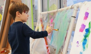 Art Adventure: Two, Four, Six, Drop-In Art Visits or One-Month Membership at Art Adventure (Up to 59% Off)
