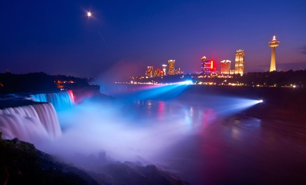 Stay with Entertainment Package at Days Inn at the Falls in Niagara Falls, NY. Dates into December.