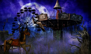 The Scream Park at The Clay County Fairgrounds: Pick Your Poison Pass for One at The Scream Park (Up to 33% Off). Two Options Available.