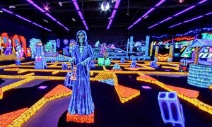 Monster Mini Golf: Four or Eight Rounds of Miniature Golf at Monster Mini Golf (50% Off)