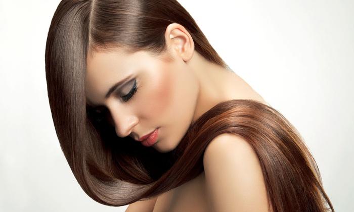 Salon on Barrington  - Salon on Barrington - Carol Haas Hair Design: Haircut and Scalp Massage or Full Highlights from Carol Haas Hair Design at Salon on Barrington  (Up to 54% Off)