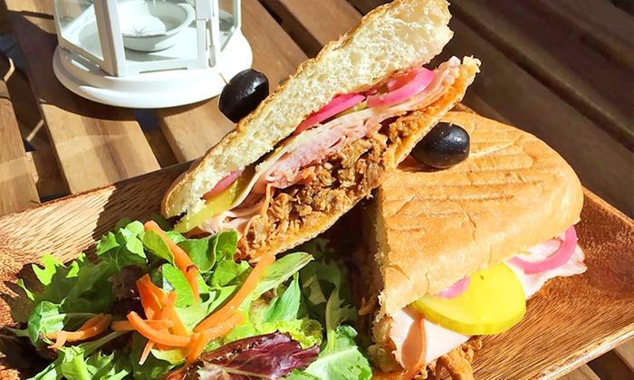 Franco's Mini Deli - El Cerrito: Medium Sandwich Platter or $6 for $10 Worth of Deli Food at Franco's Mini Deli